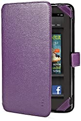 Belkin Verve Tab Folio for Kindle Fire, Purple (does not fit Kindle Fire HD)