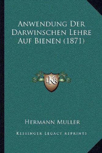 Anwendung Der Darwinschen Lehre Auf Bienen (1871)