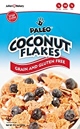 Paleo Coconut Flakes Cereal (Value Pack 6 Boxes) (Low Carb & Gluten Free)