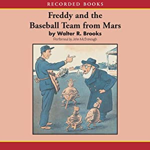 Freddy and the Baseball Team from Mars Audiobook