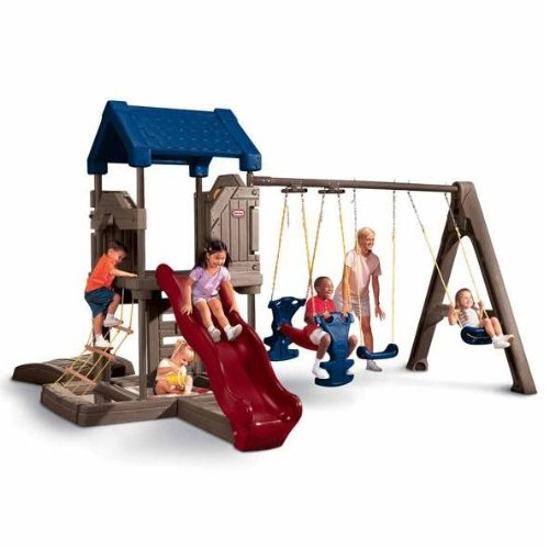 Little tikes endless adventures playcenter playground for Little tikes outdoor playset