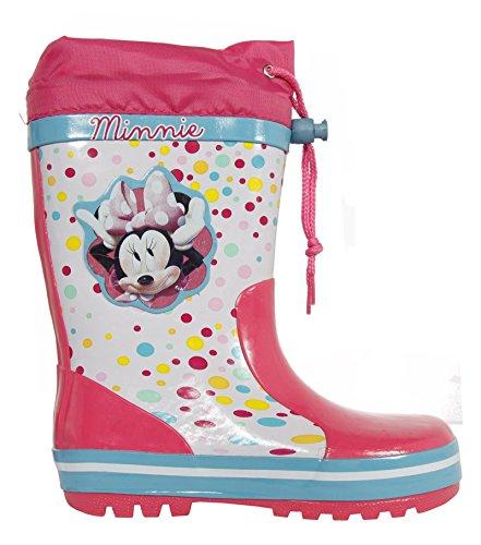 Stivali da pioggia per Bambina DISNEY 2304-958 BLANCO-ROSA size-map 28