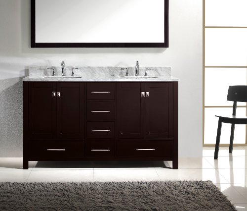 Virtu-USA-GD-50060-WMSQ-ES-Caroline-Avenue-60-Inch-Bathroom-Vanity-with-Double-Square-Sinks-in-Espresso-and-Italian-Carrara-White-Marble