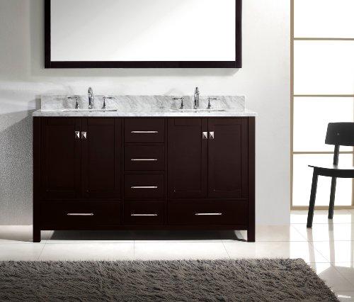 Virtu-USA-GD-50060-WMSQ-ES-Caroline-Avenue-60-Inch-Bathroom-Vanity-with-Double-Square-Sinks-in-Espresso-and-Italian-Carrara-White-Marble