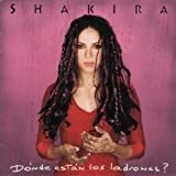 Shakira Album - Donde Estan Los Ladrones (Front side)