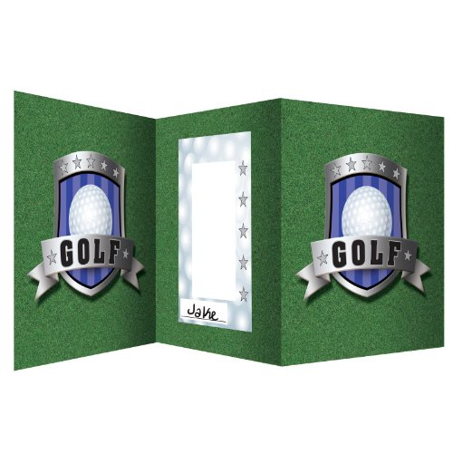 Golf Accordian Photo Centerpiece Party Accessory