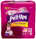 Huggies Pull-Ups Learning Designs Training Pants, Size 2T-3T (32-30 lbs), Disney Princess, Jumbo, 26 ct.