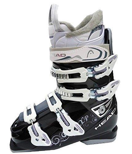 Damen Skischuhe Skistiefel Head XP Black Anthracite Schnallen 4 MP 25,5 etwa Gr 39,5 2014/15