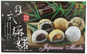 Royal Family Japanese Mixed Mochi, 15.8-Ounce (Pack of 4)
