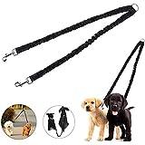 Rrimin Nylon Belt Pet Dog Traction Rope Double Head Adjustable Training Dog Harness Collar Lead