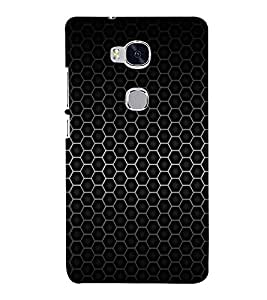 Vizagbeats Carbon Texture Back Case Cover for Huawei Honor 5X