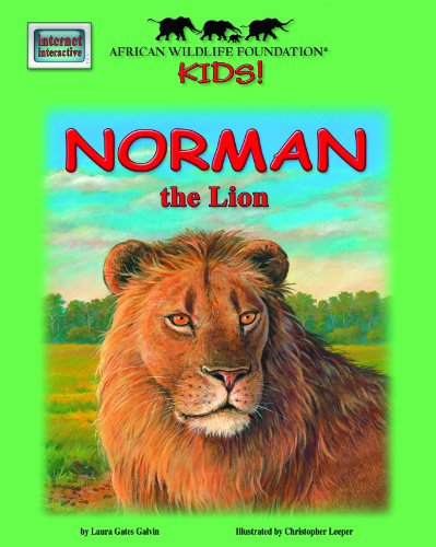 Norman the Lion - An African Wildlife Foundation Story (with audio CD)