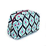 Taylor Plum and Teal Palazzo 1 Peter 3:4 Canvas-like 8 x 4 inch Cosmetic Bag