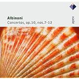 Albinoni : Concertos Op. 10 n° 7 à n° 12