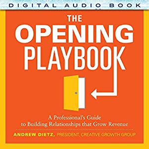 The Opening Playbook Audiobook