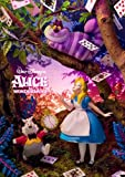 Disney Amazing 3D Greeting Card Postcard - Collectible ALICE in Wonder land 3D Card -