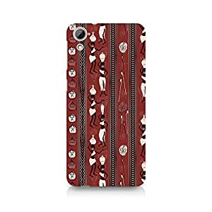 Ebby Tribal Party Premium Printed Case For HTC Desire 820