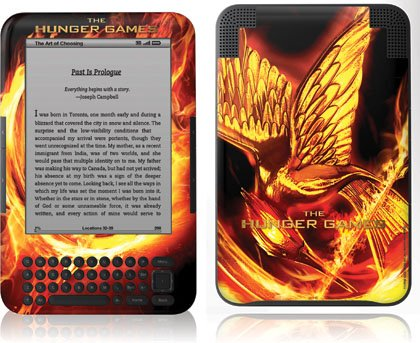 Skinit The Hunger Games Mockingjay Vinyl Skin for Amazon Kindle 3