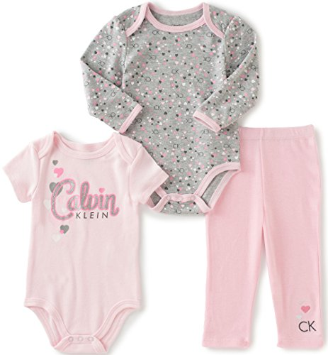 Calvin Klein Baby Creeper Pants Set