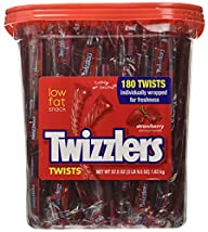 Twizzlers, Plastic Canister, Individu…