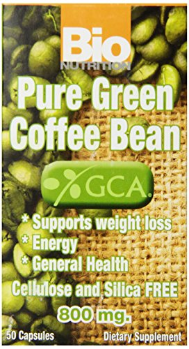 Bio Nutrition Coffee Bean Gel Caps, Pure Green, 50 Count (Pure Green Bean Coffee compare prices)