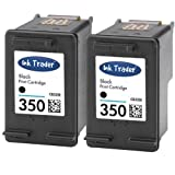 2x HP 350 Remanufactured Black Ink Cartridges for use with HP Photosmart C4205, C4270, C4272, C4280, C4340, C4380, C4390, C4472, C4480, C4485, C4580, C4585, C4599, C4424, C4524, C5280, C5288 & D5360 Printers by Ink Trader