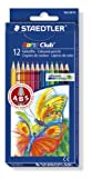Staedtler Noris Club Colouring Pencils 144 NC12 Asst Pack 12
