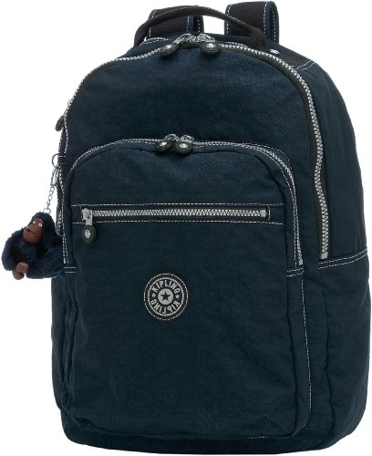B0018735GA Kipling Seoul Large Backpack With Laptop Protection,True Blue,One Size