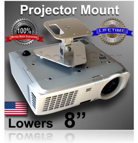 Projector-Machinery Projector Ceiling Mount for SONY VPL-HS51 with 8 Extension