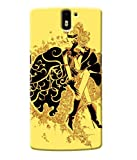 Fuson Stlye Girl Back Case Cover for ONEPLUS ONE D3973