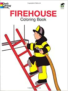 amazoncom firehouse coloring book dover coloring books