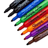 Sharpie Flip Chart Markers, Assorted Colors, Box of 8 (22478)