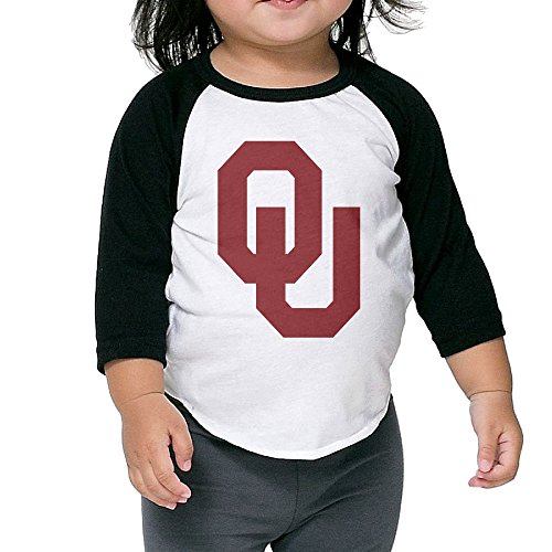 Oklahoma Sooners Football Bob Stoops Sooner Schooner Baby Boy Girl 3/4 Raglan T-shirt (Jersey Boy Tickets compare prices)