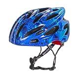 HardnutZ Blue Rain Adult Cycling Helmet