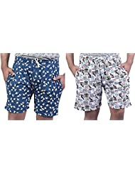 Combo Of Trendy Printed Men Shorts By Bfly
