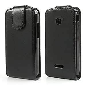 JUJEO for Huawei Ascend U8685D Y210D Y210 Magnetic Vertical Flip Leather Case - Retail Packaging - Multi Color
