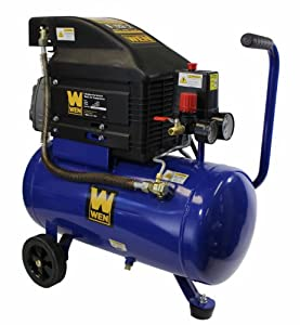 WEN 2276 Oil Lubricated Horizontal Tank Air Compressor, 6-Gallon from Great Lakes Tool MFG INC