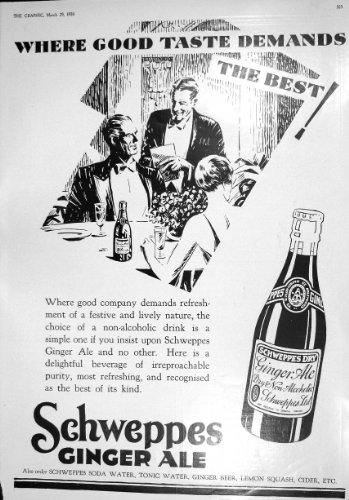 camisas-1930-del-ginger-ale-pepsodent-woodrow-luvisca-de-schweppes-del-anuncio