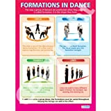 Formations in Dance Dance Educational Wall ChartPoster in laminated paper A1 850mm x 594mm