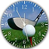 """New Golf Wall Clock 10"""" Will Be Nice Gift and Room Wall Decor Z95"""