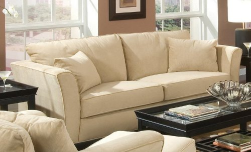By Coaster Park Place Collection Cream Finish Sofa