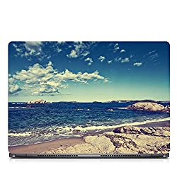 Inktree Vinyl Sea Matte Finish Adhesive Laptop Skin (15 inch x 10 inch, Mulicolor)