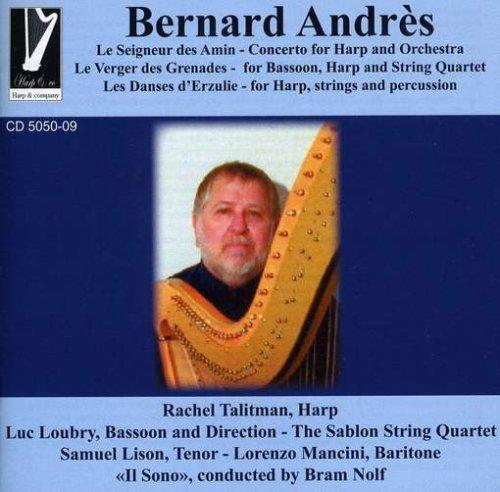 """Concerto Pour Harpe """" Le Seigneur Des Amin"""""""
