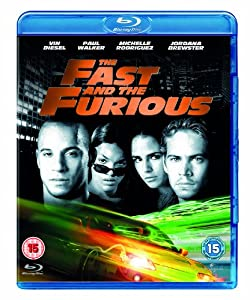 the fast and the furious blu ray paul walker vin diesel michelle rodriguez. Black Bedroom Furniture Sets. Home Design Ideas