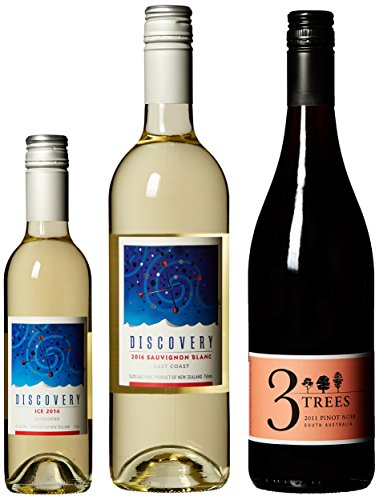Red, White And Ice Blue, 2 X 750 Ml & 1 X 375 Ml