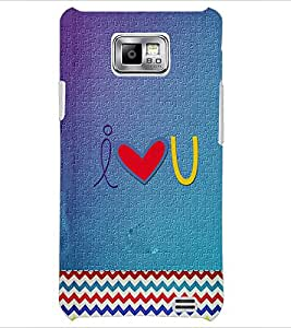 PrintDhaba Quote D-3918 Back Case Cover for SAMSUNG GALAXY S2 (Multi-Coloured)