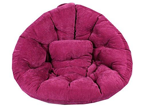 Ambientehome-90710-Magic-Seat-Ocotpus-Sitzmuschel-XXL-215-cm-rosa