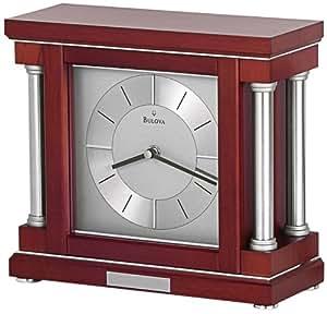 Bulova Ambiance Mantel Clock Home Kitchen