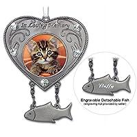 Cat Bereavement Remembrance Memorial Photo Ornament