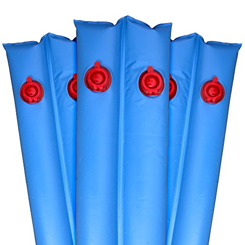 Pool Mate 1-3811-10 Heavy-Duty 16 Gauge 10-Foot Blue Winter Water Bag For Swimming Pool Covers, 10-Pack (Pool Cover Water Bags compare prices)